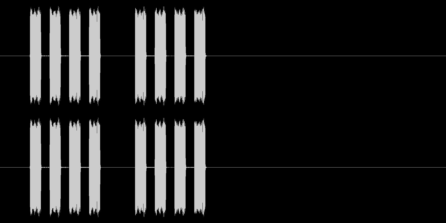 【GB 格闘01-14(メッセージ)】 の未再生の波形
