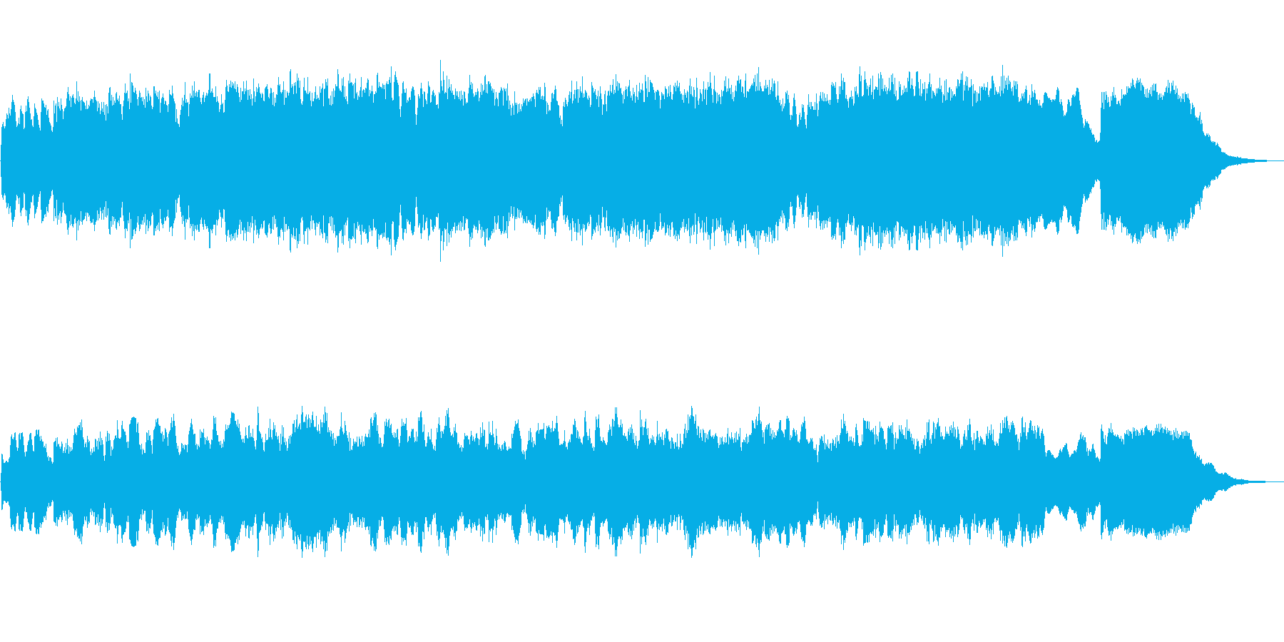 パイプオルガンのフーガ No.11の再生済みの波形