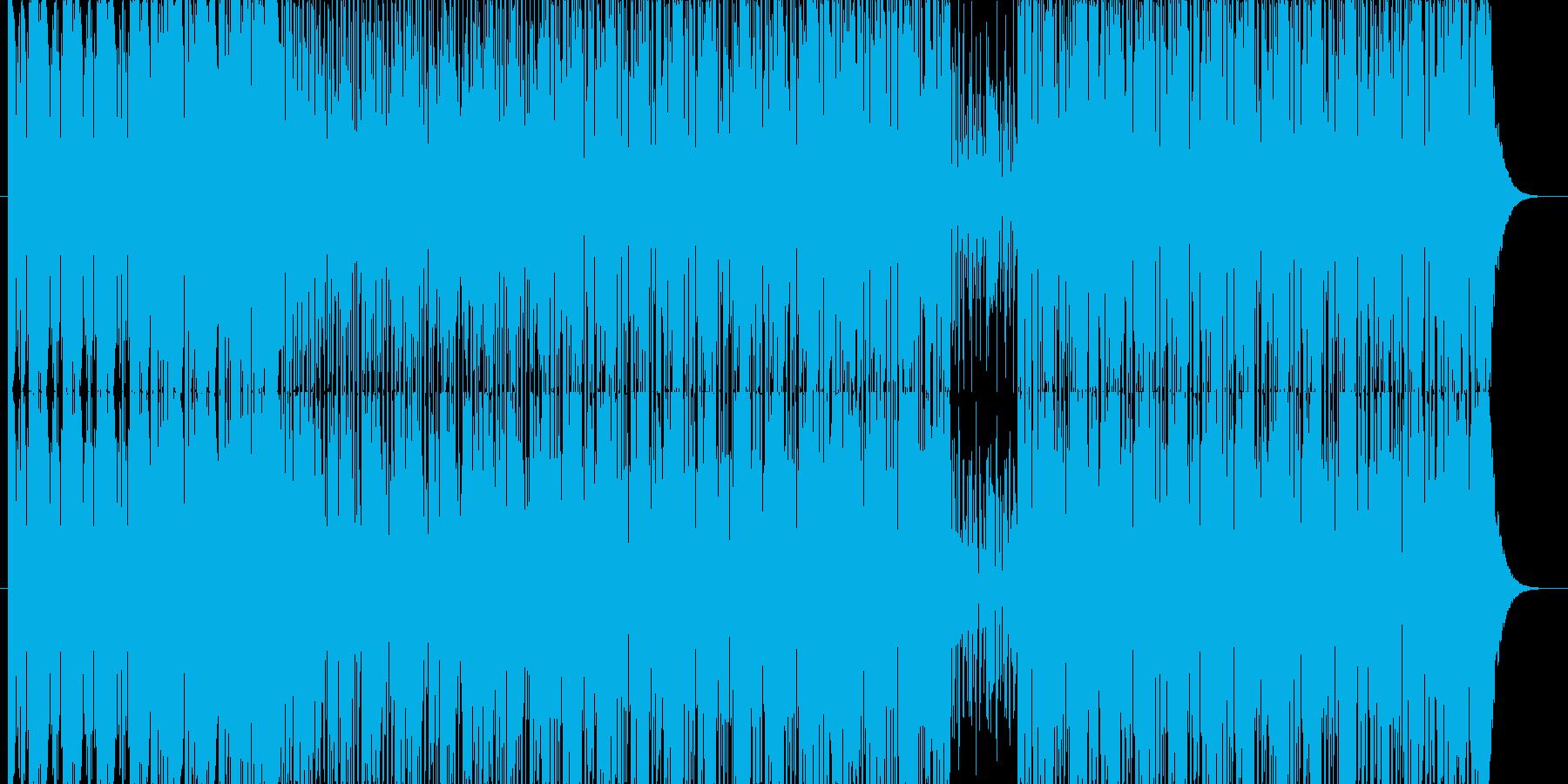 【RnB】ノリノリなラップの曲の再生済みの波形