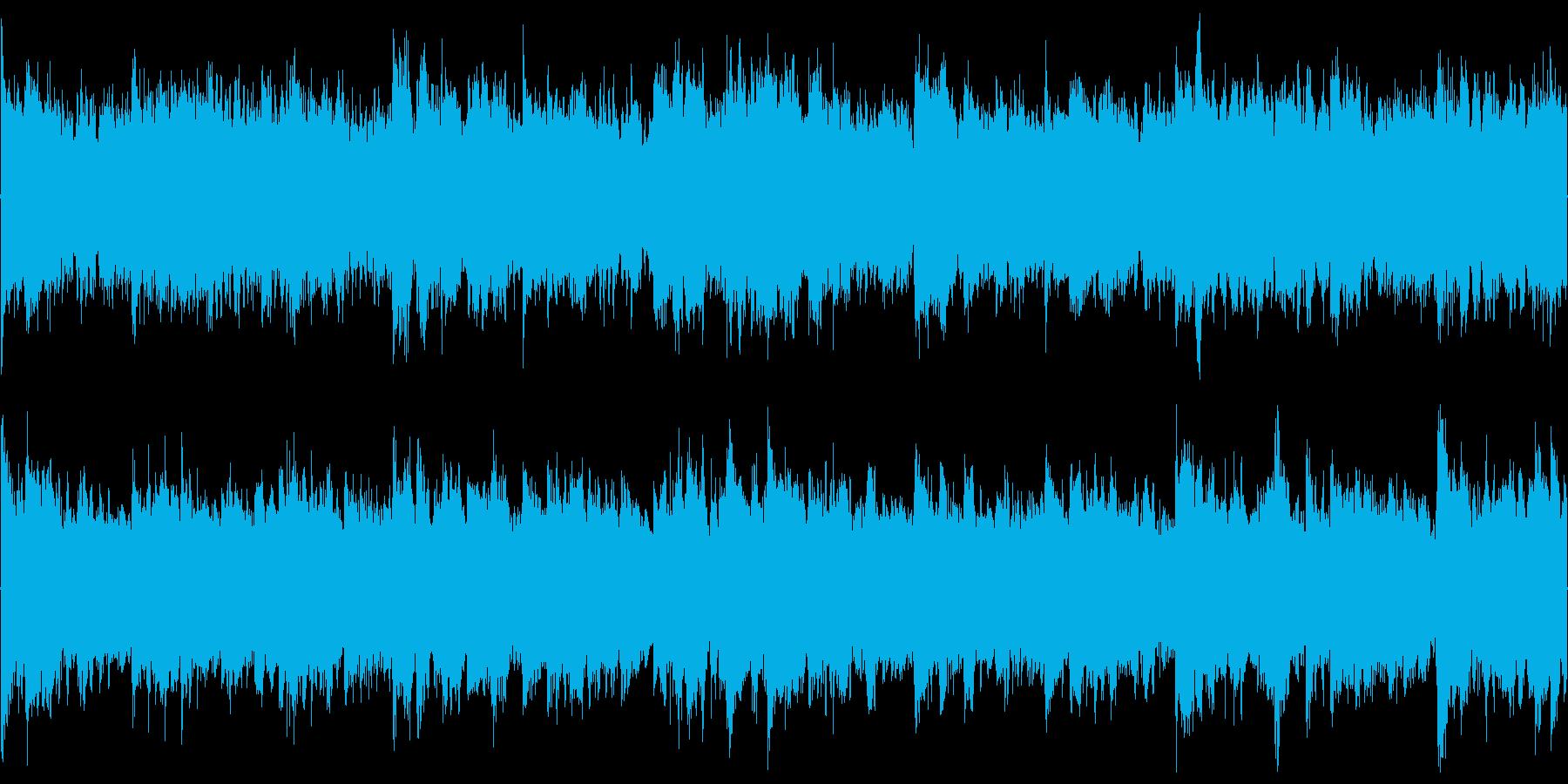 【ドラム抜き】爽やかでおしゃれな雰囲気の再生済みの波形