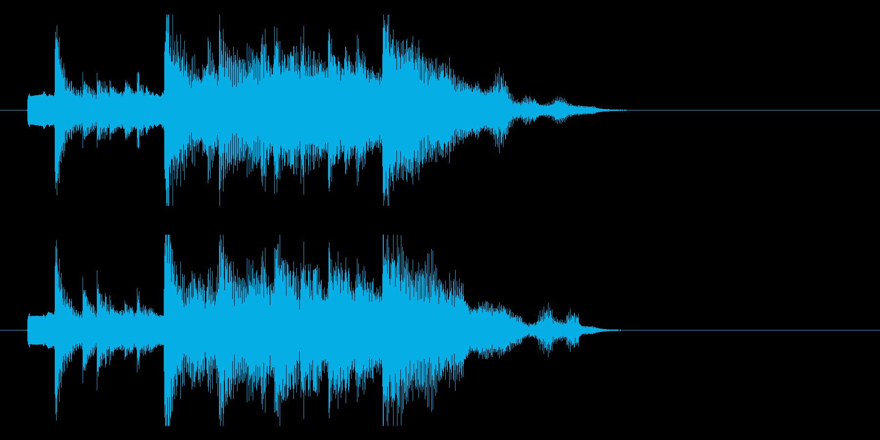 秋にぴったり 切ないメロディのジングルの再生済みの波形