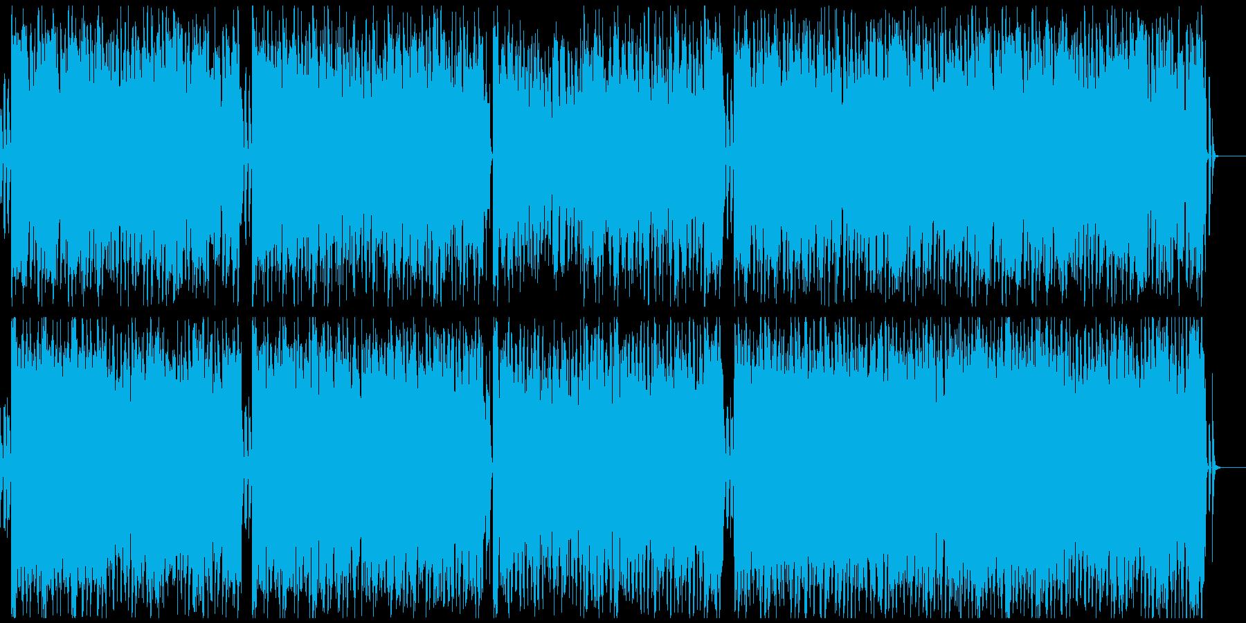聖者の行進 リズム&スライドギター抜きの再生済みの波形