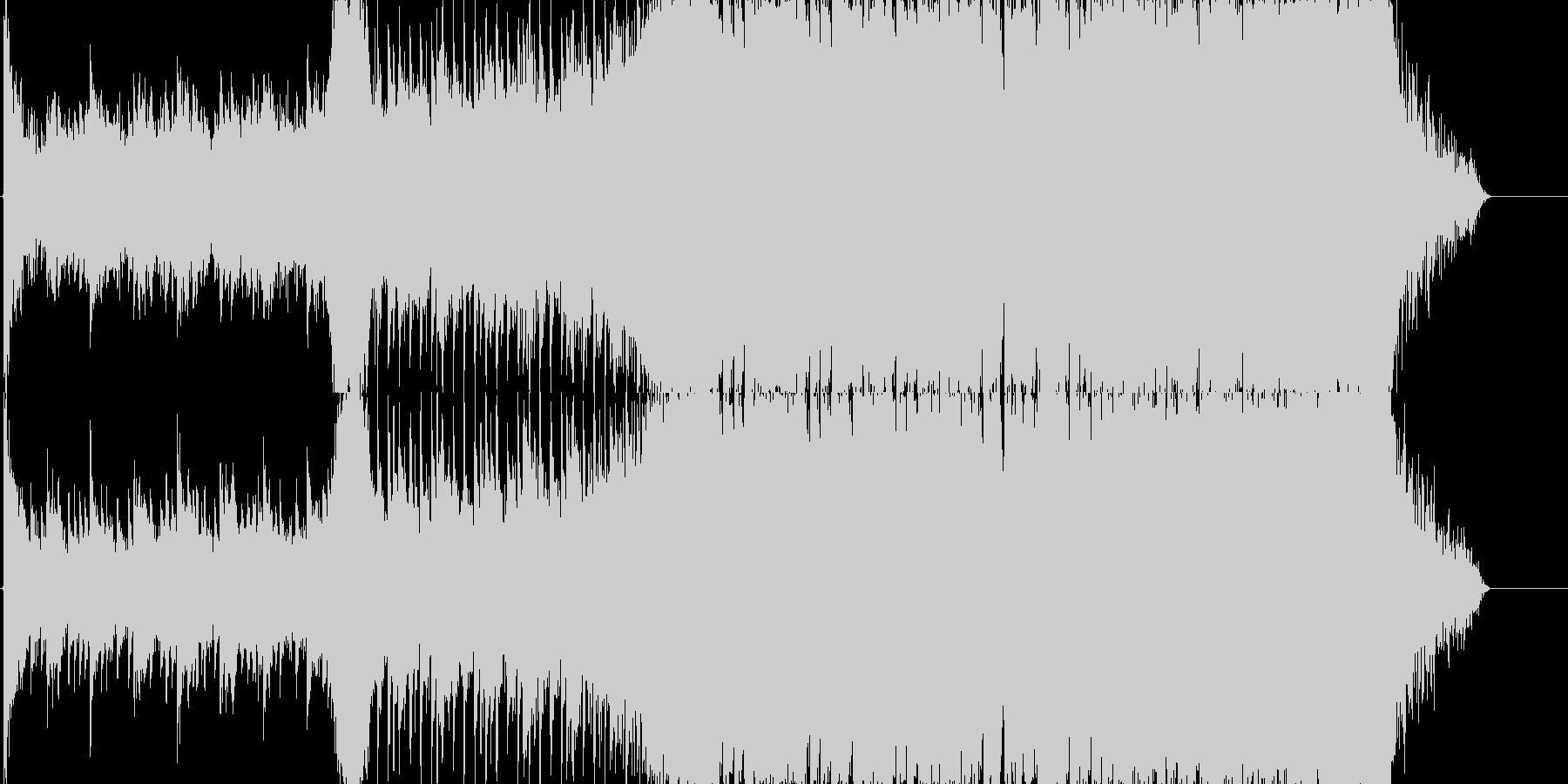4つ打ち系インストの未再生の波形
