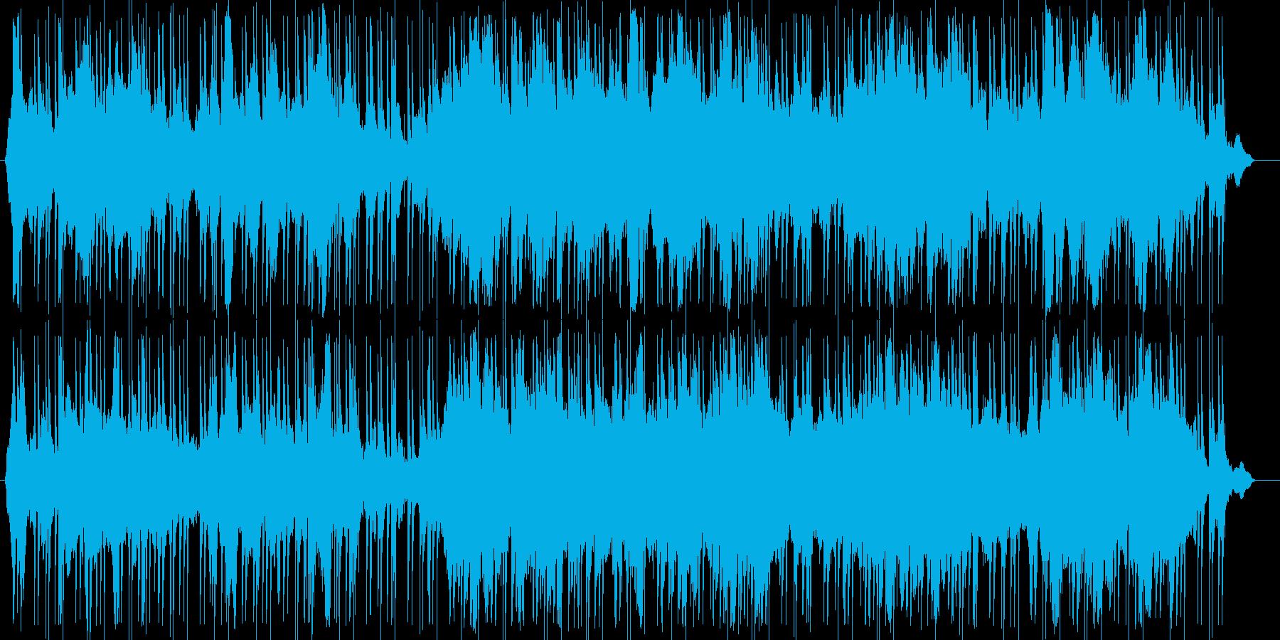 荒廃的エレクトロニカ、アンビエントの再生済みの波形