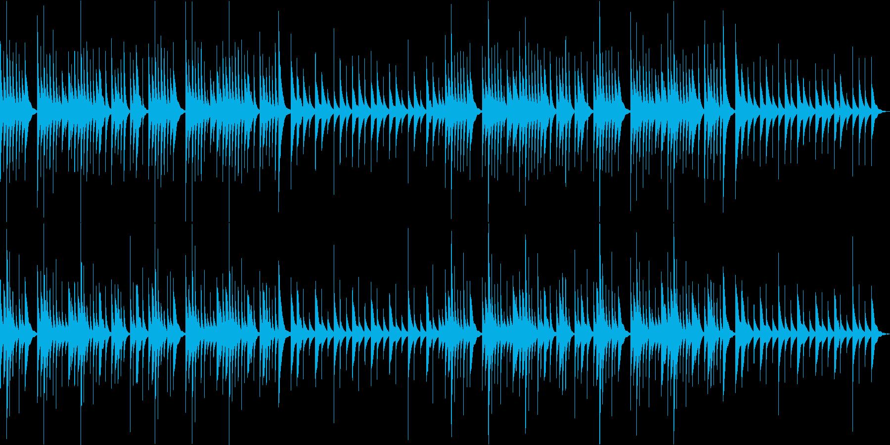 オルゴールのソロです、懐かしいようなシ…の再生済みの波形