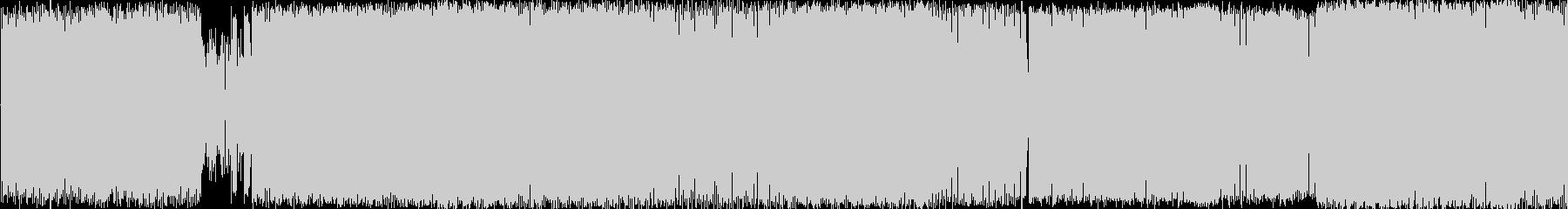 オシャレでタイトなリズムのクラブ的BGMの未再生の波形