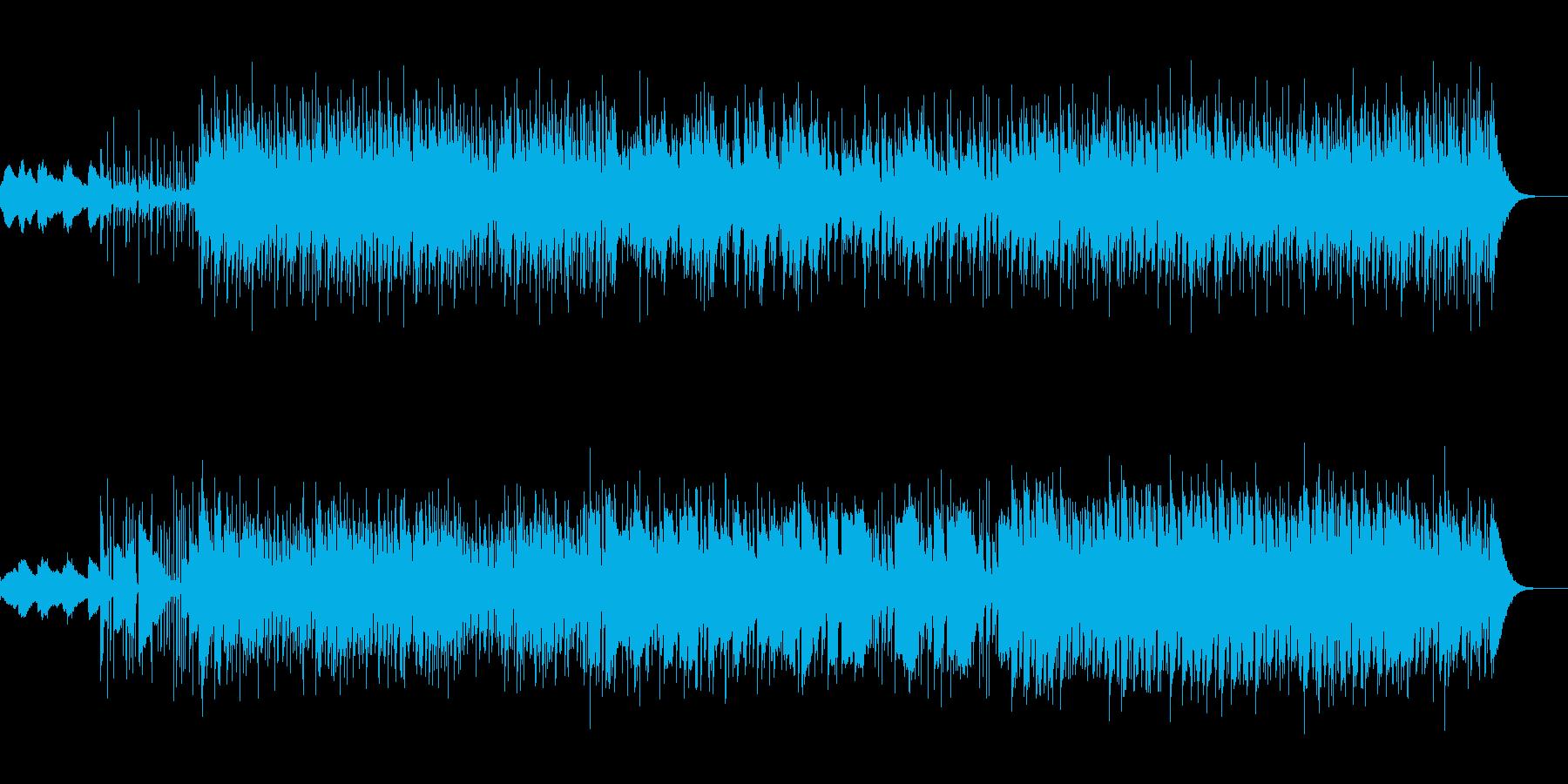 インド風民族音楽の再生済みの波形