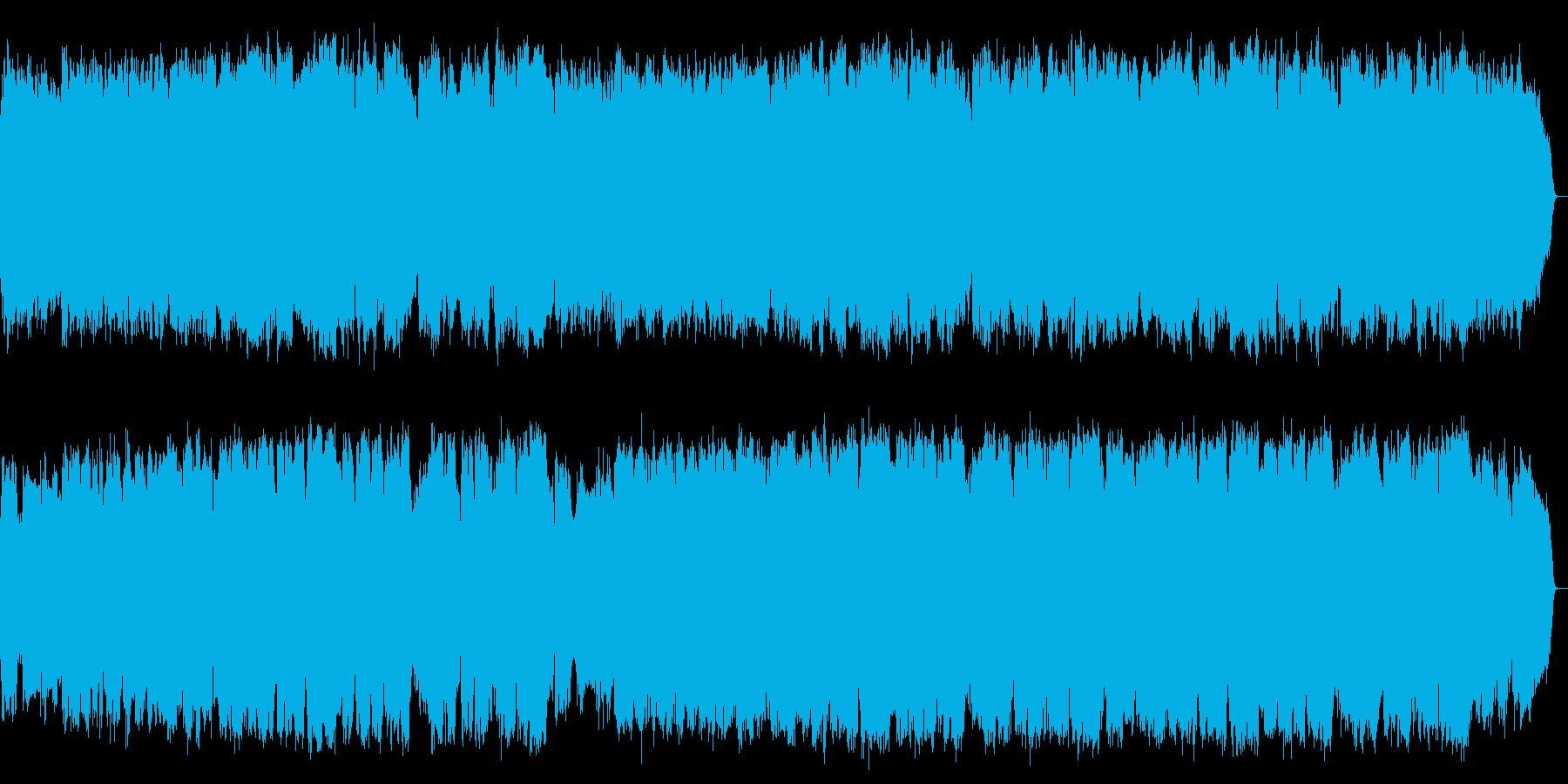ピアノのアルペジオと弦楽器の心休まるメロの再生済みの波形