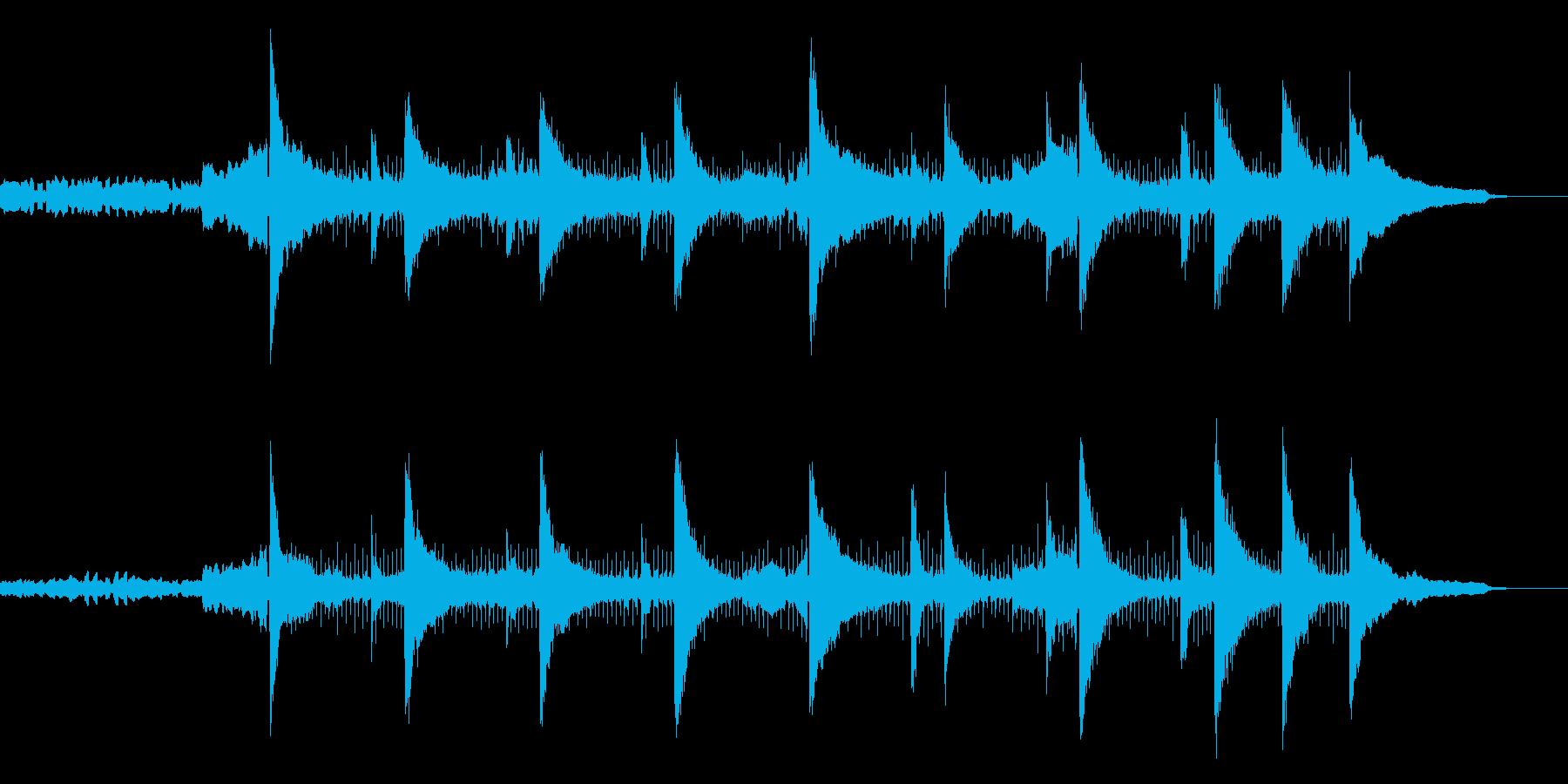 独特の浮遊感が印象的なアンビエントの再生済みの波形