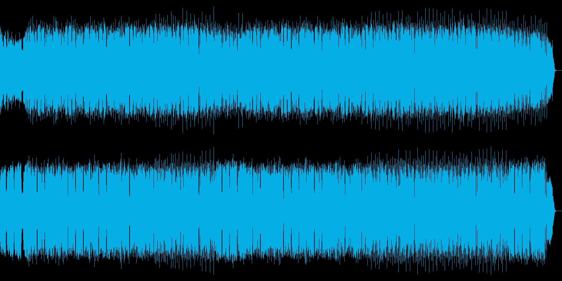 フルートの清々しい旋律で包み込む様な楽曲の再生済みの波形