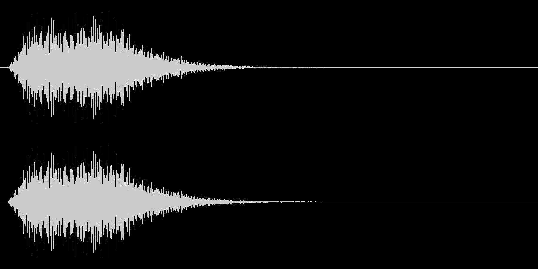 回復/アイテム使用/魔法の未再生の波形