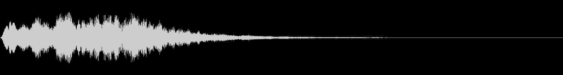 システム系ログオフ音の未再生の波形