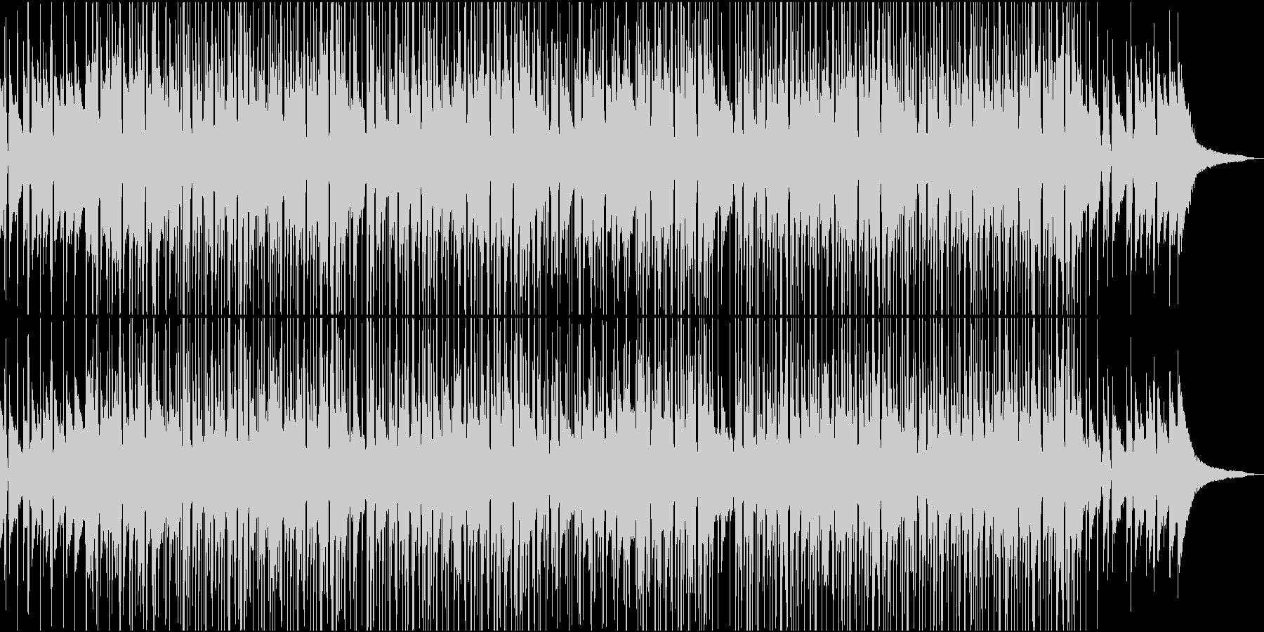 インストヒップホップっぽいお洒落なBGMの未再生の波形