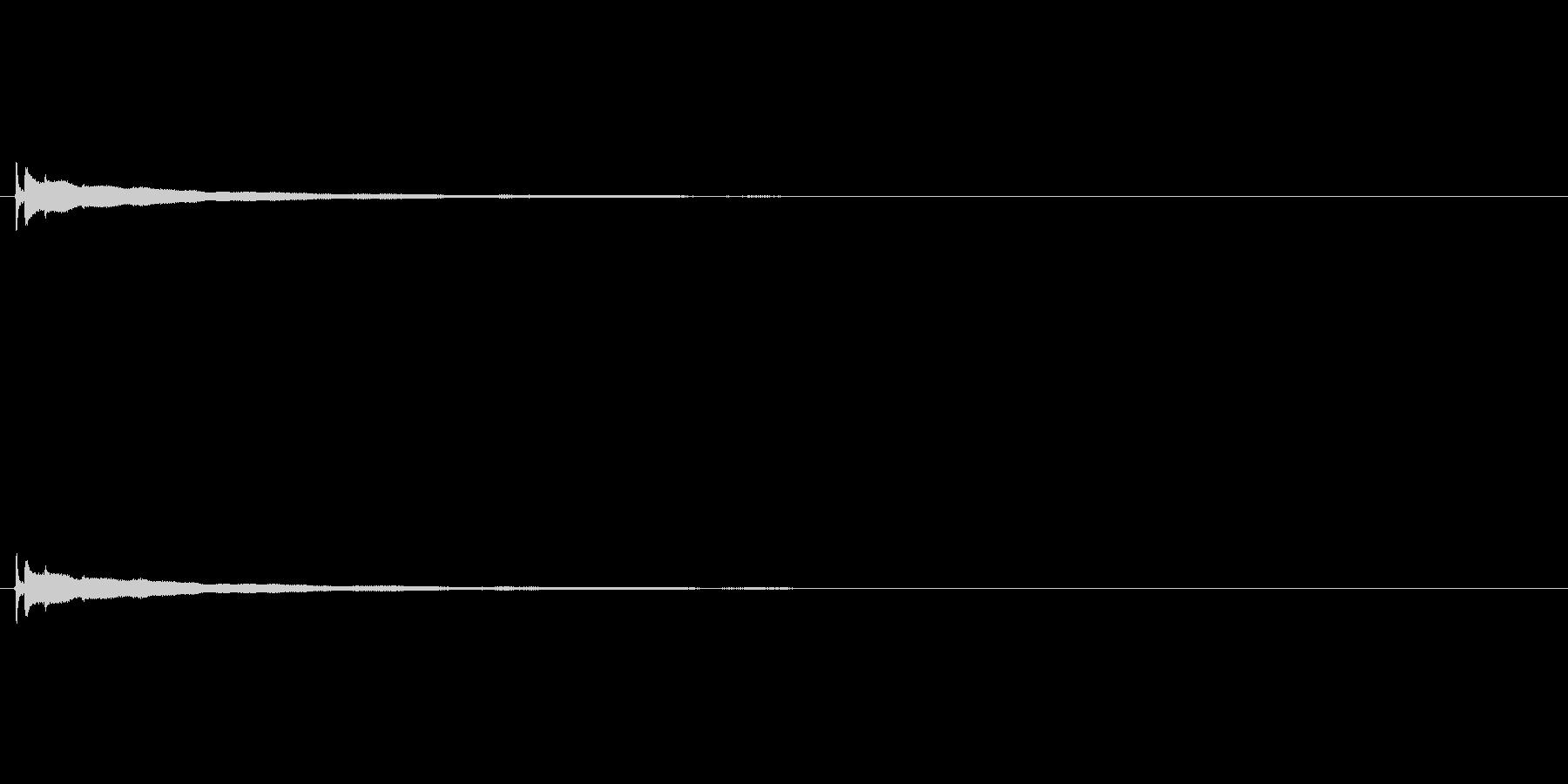 【コールベル タップ式01-6】の未再生の波形