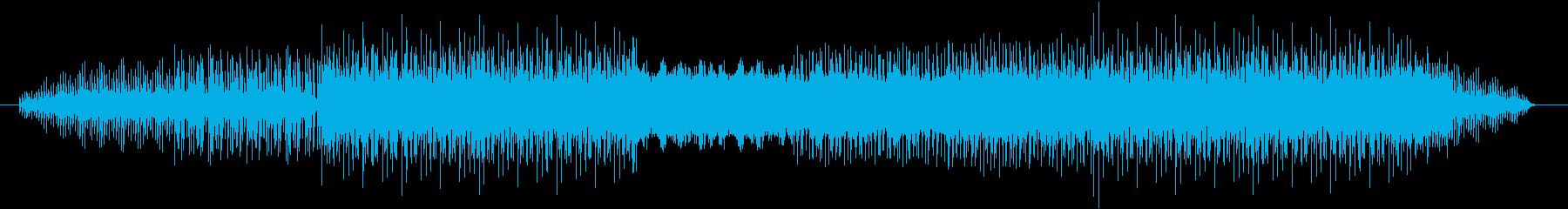 フィールド(森)をイメージして制作した…の再生済みの波形