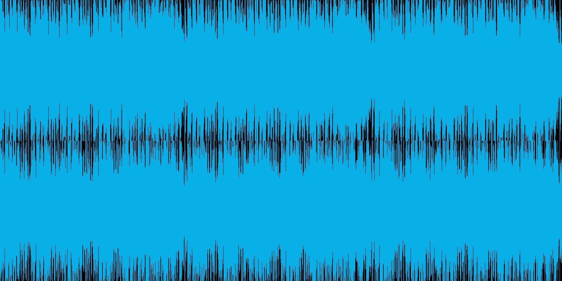 ほのぼのとしたデート用のBGMの再生済みの波形