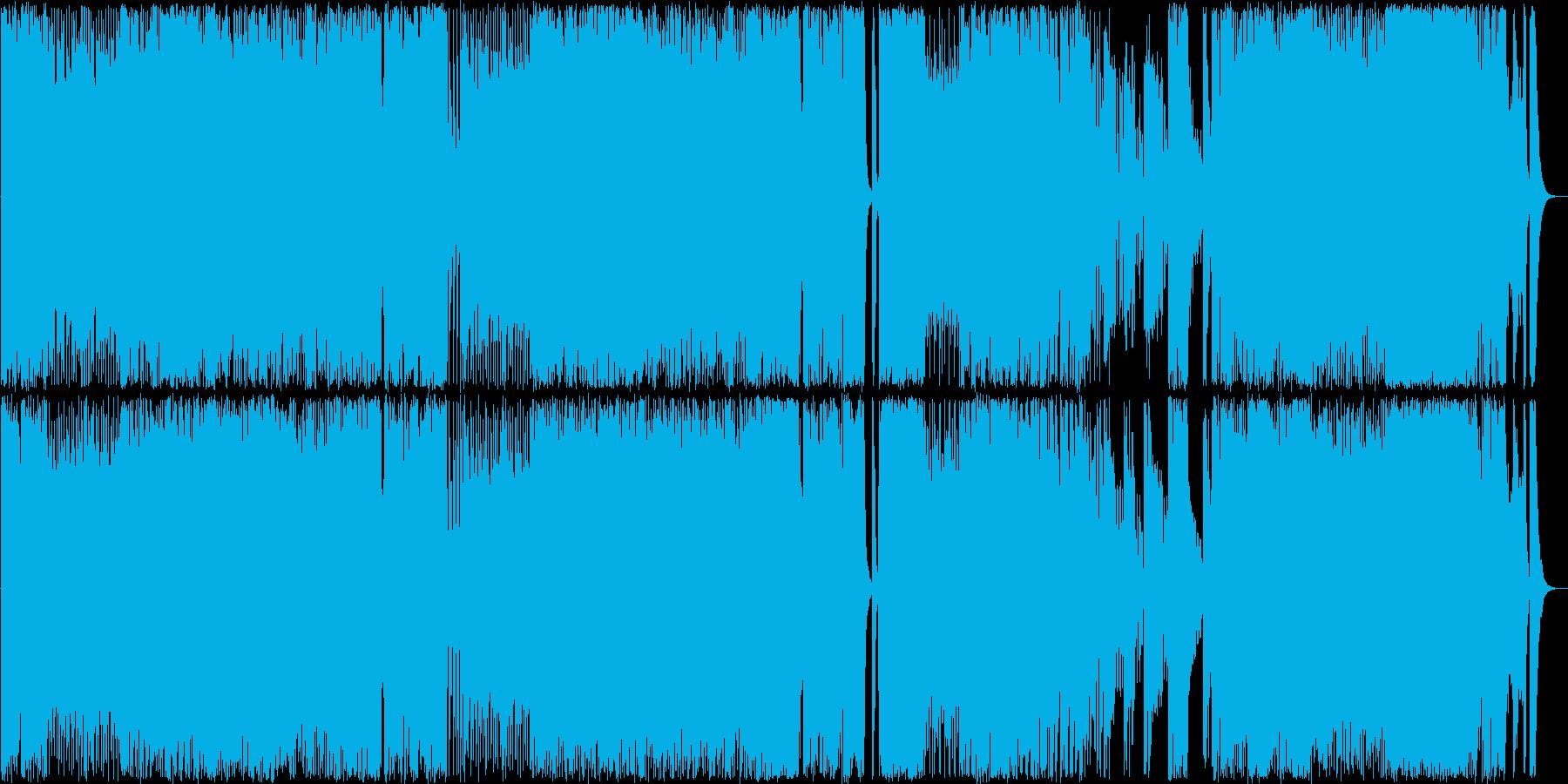 ベートーヴェンの交響曲第5のメタルの再生済みの波形