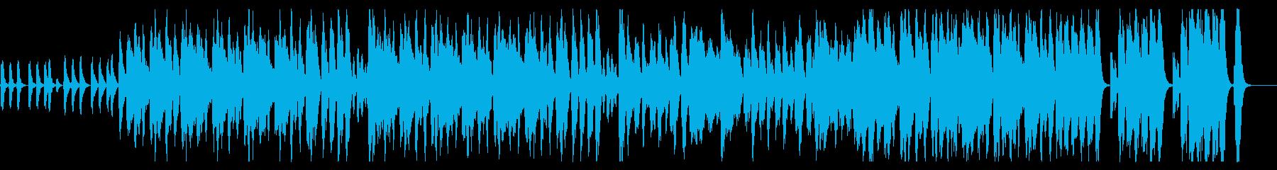 南国を思わせる明るい楽曲の再生済みの波形