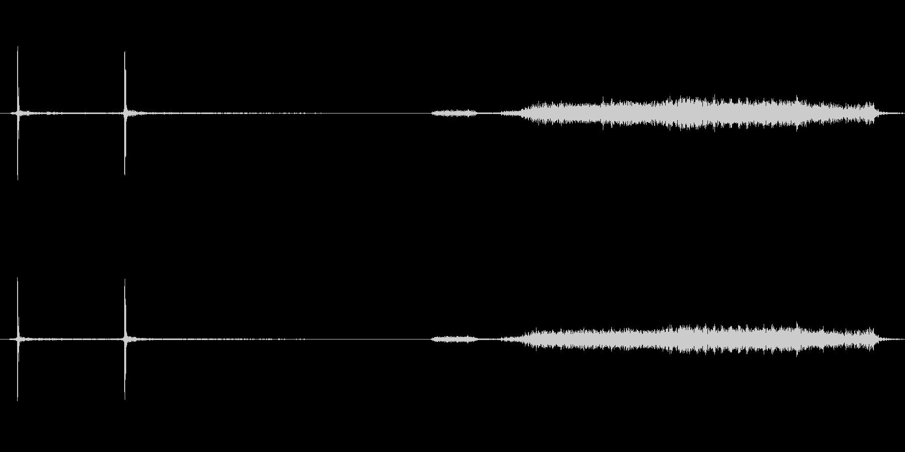 デジカメの電源を切るときの音の未再生の波形