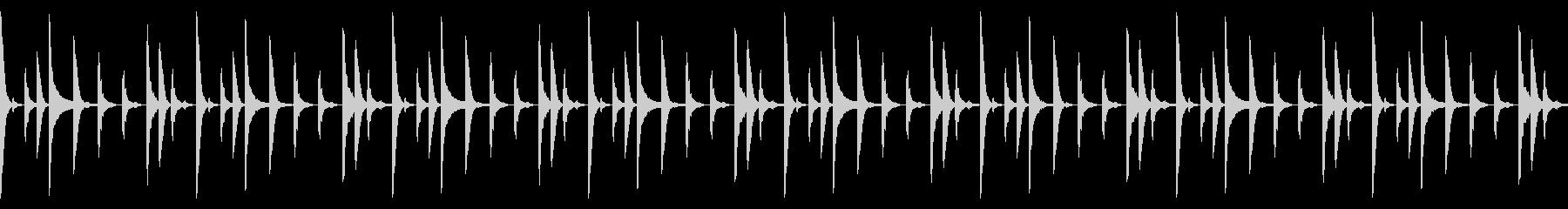 Future bassのドラムパターン2の未再生の波形