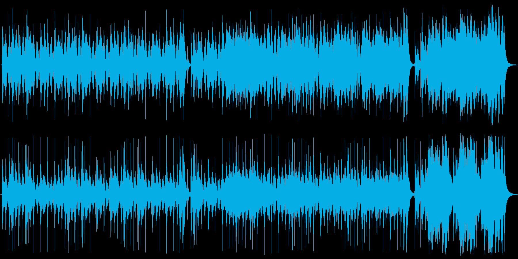 シンプルで楽しいアコースティックポップの再生済みの波形