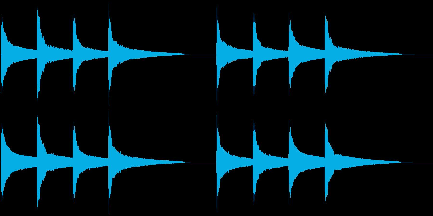 ピンポンパンポン (2) の再生済みの波形