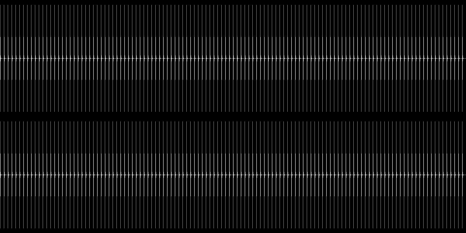 【生録音】ポク・ポク・ポク…早めの未再生の波形