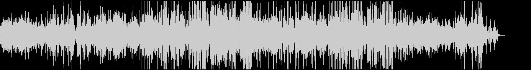 感動映像のためのジャズピアノトリオの未再生の波形