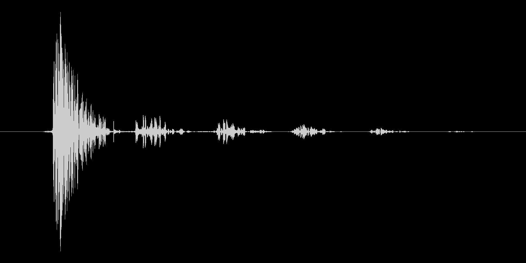 ノイズ系キャンセル音2の未再生の波形