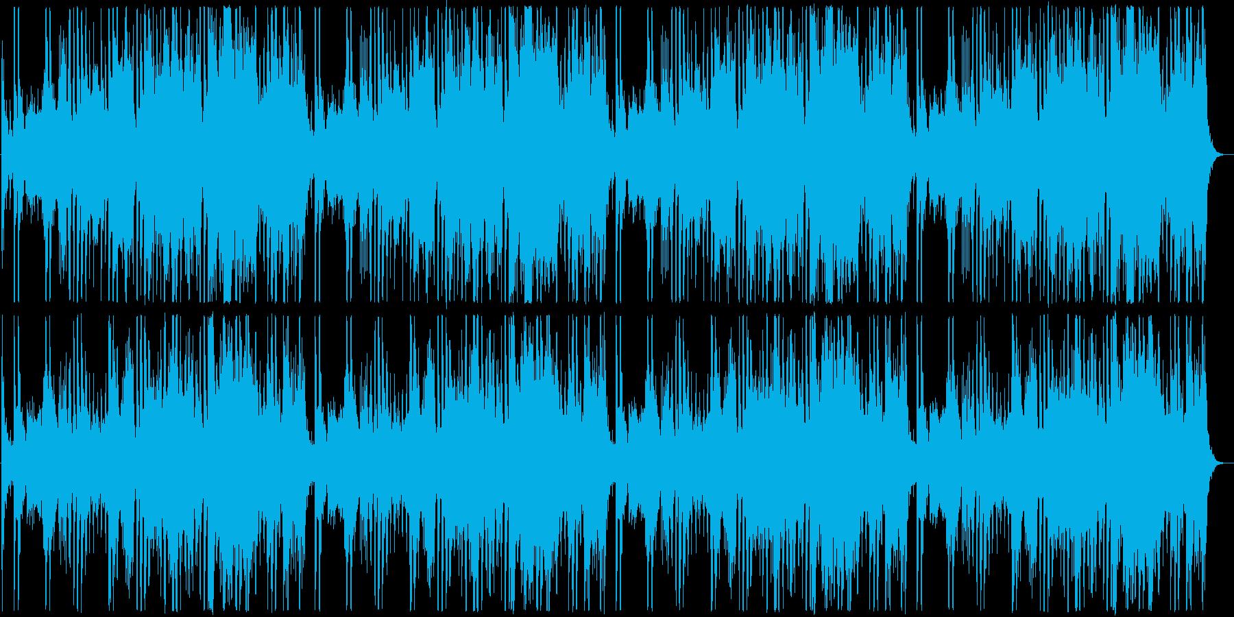 RPGのフィールドBGM風オーケストラ曲の再生済みの波形