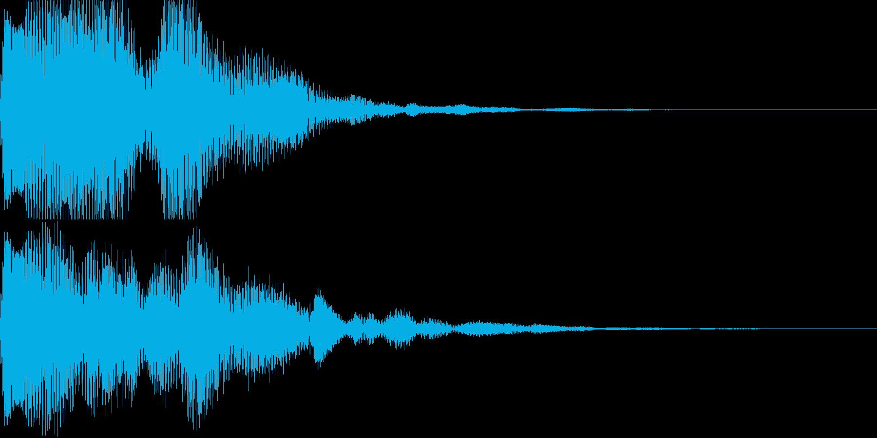 汎用決定ボタン - 8の再生済みの波形
