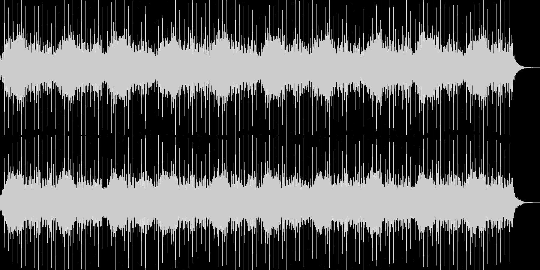 サイレンのループ+リズムの未再生の波形