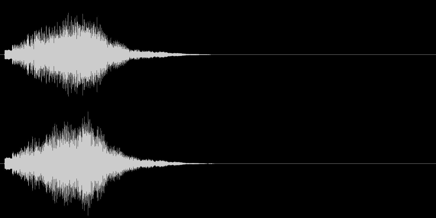 グリッサンド09 キラキラ(上昇)の未再生の波形