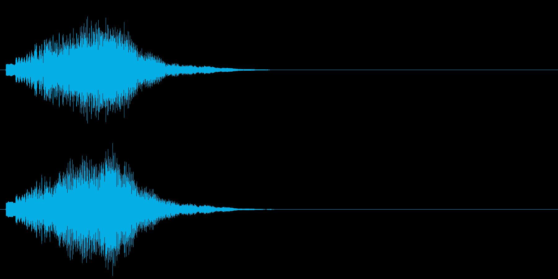 グリッサンド09 キラキラ(上昇)の再生済みの波形