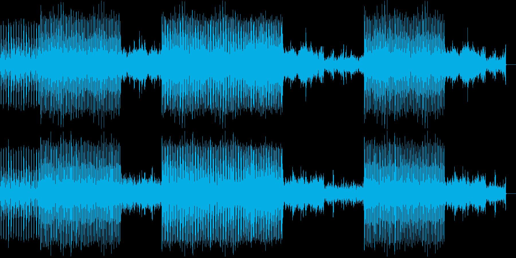 00年代のJ-pop風サウンドトラックの再生済みの波形