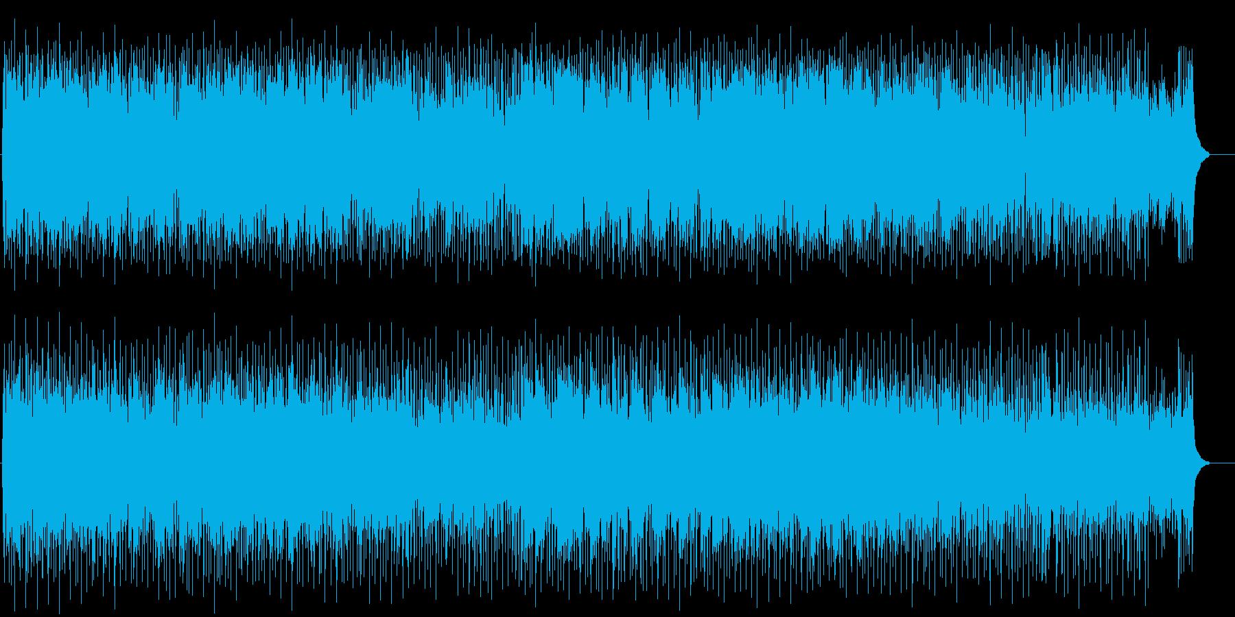 仕事終わりの爽やかなポップ/フュージョンの再生済みの波形
