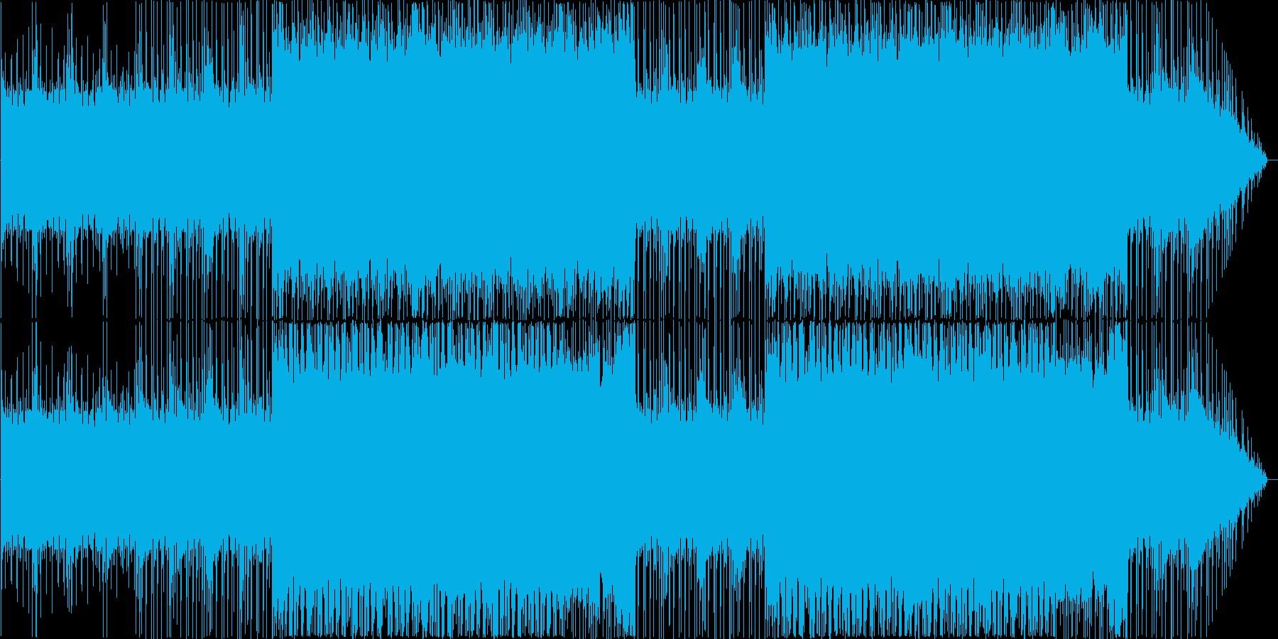 変拍子を用いたミッション、バトル等用楽曲の再生済みの波形