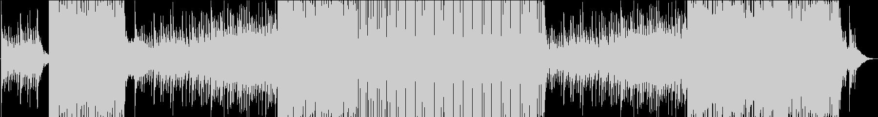 ピアノフレーズが可愛いゆったりEDMの未再生の波形