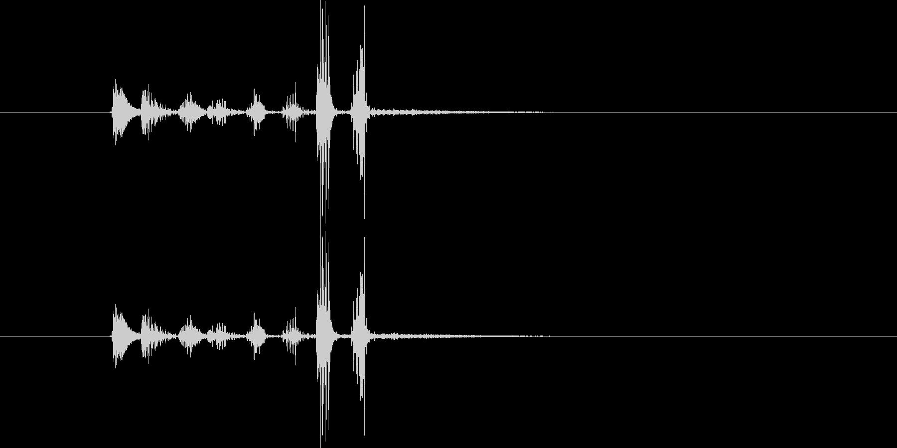 チュクチャカ(場面転換、ジングル)の未再生の波形