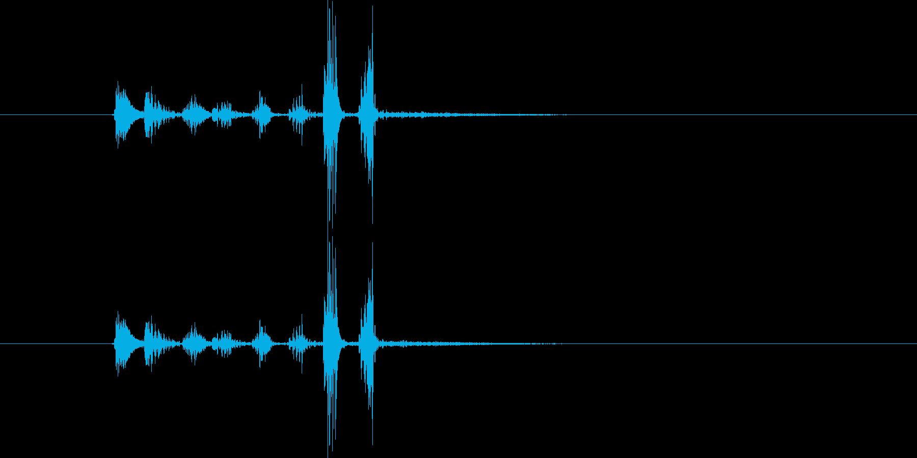 チュクチャカ(場面転換、ジングル)の再生済みの波形