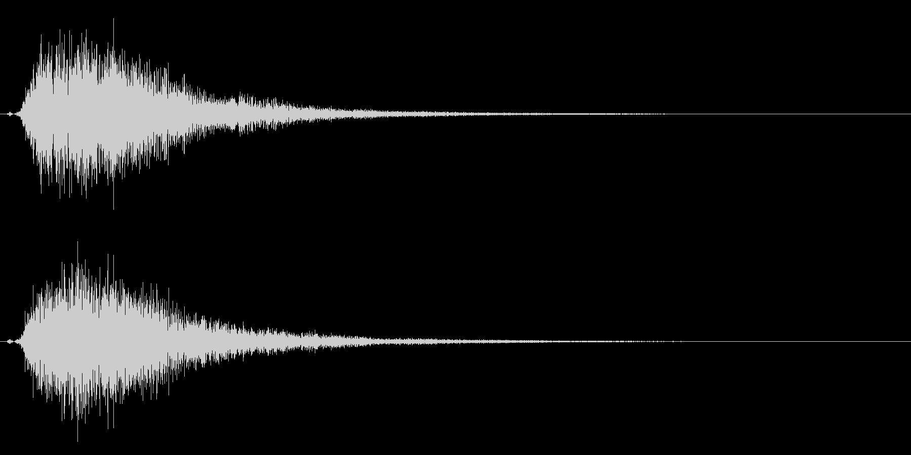 タッチ決定クリックやサウンドロゴに!23の未再生の波形