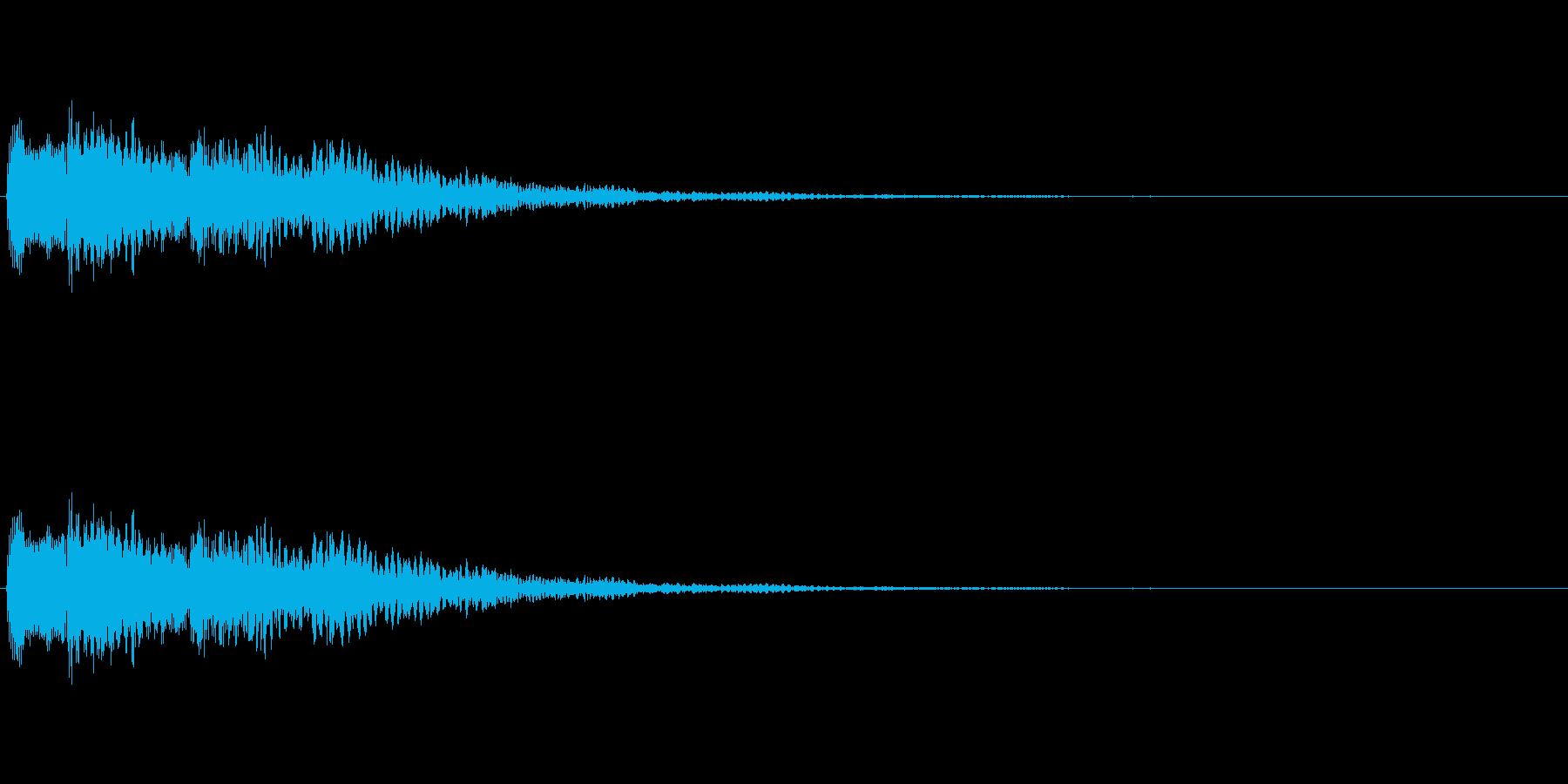霊感、奇妙なアイテムの再生済みの波形