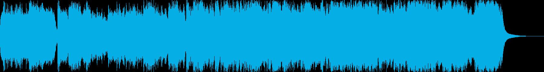 前半部はチェロを主体に低音重視で、後半…の再生済みの波形