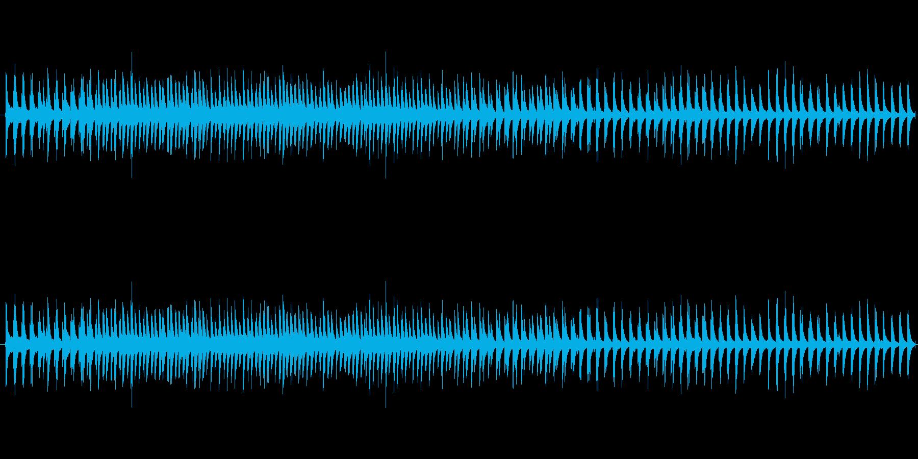機械が計算などの情報を処理している時を…の再生済みの波形