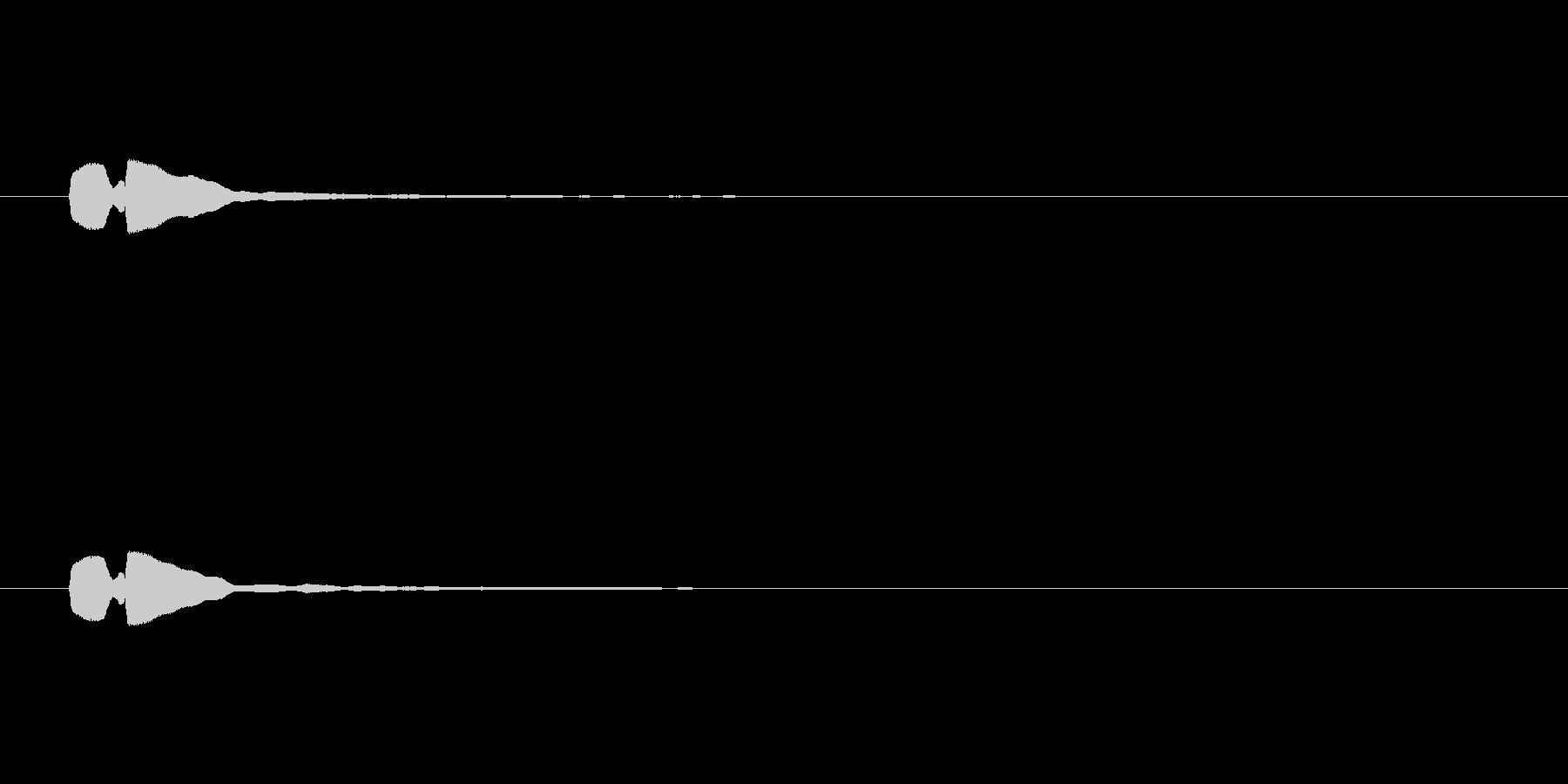 【アクセント07-5】の未再生の波形