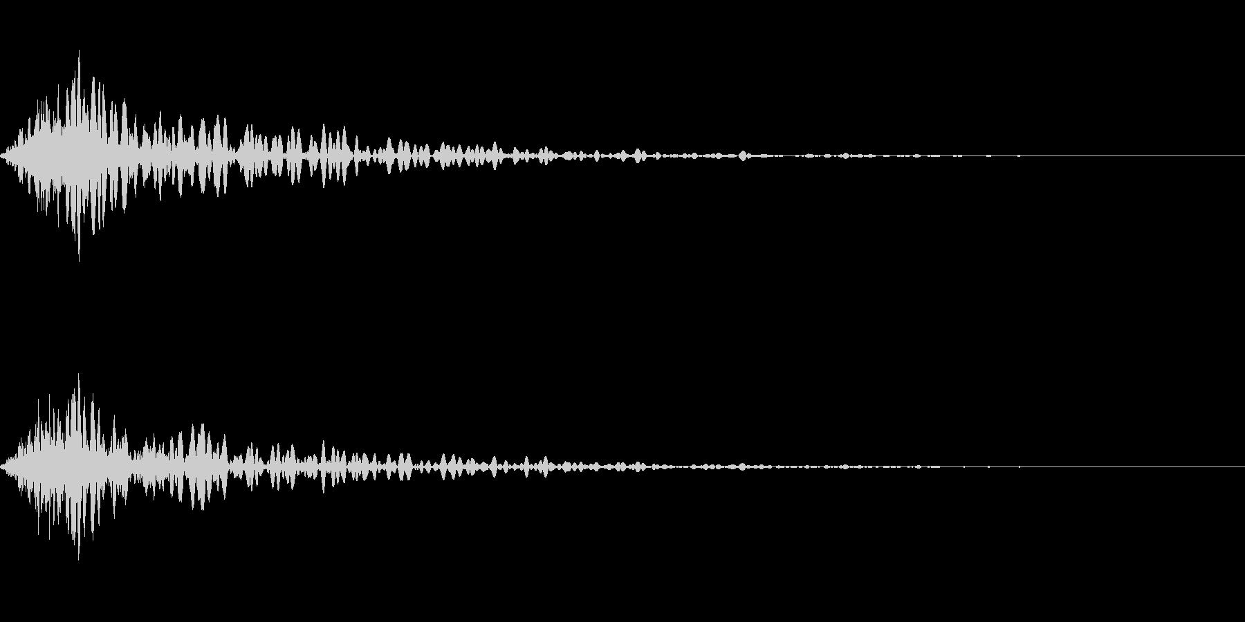 カットイン演出に使えるSE_その3の未再生の波形