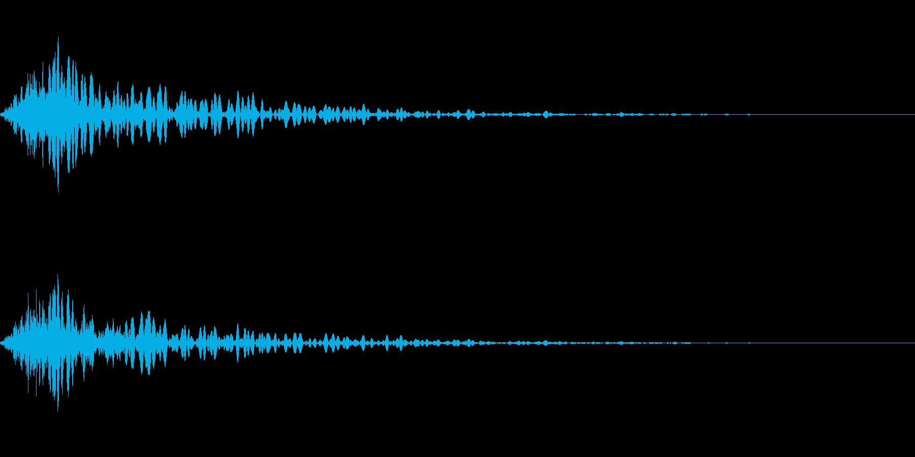 カットイン演出に使えるSE_その3の再生済みの波形