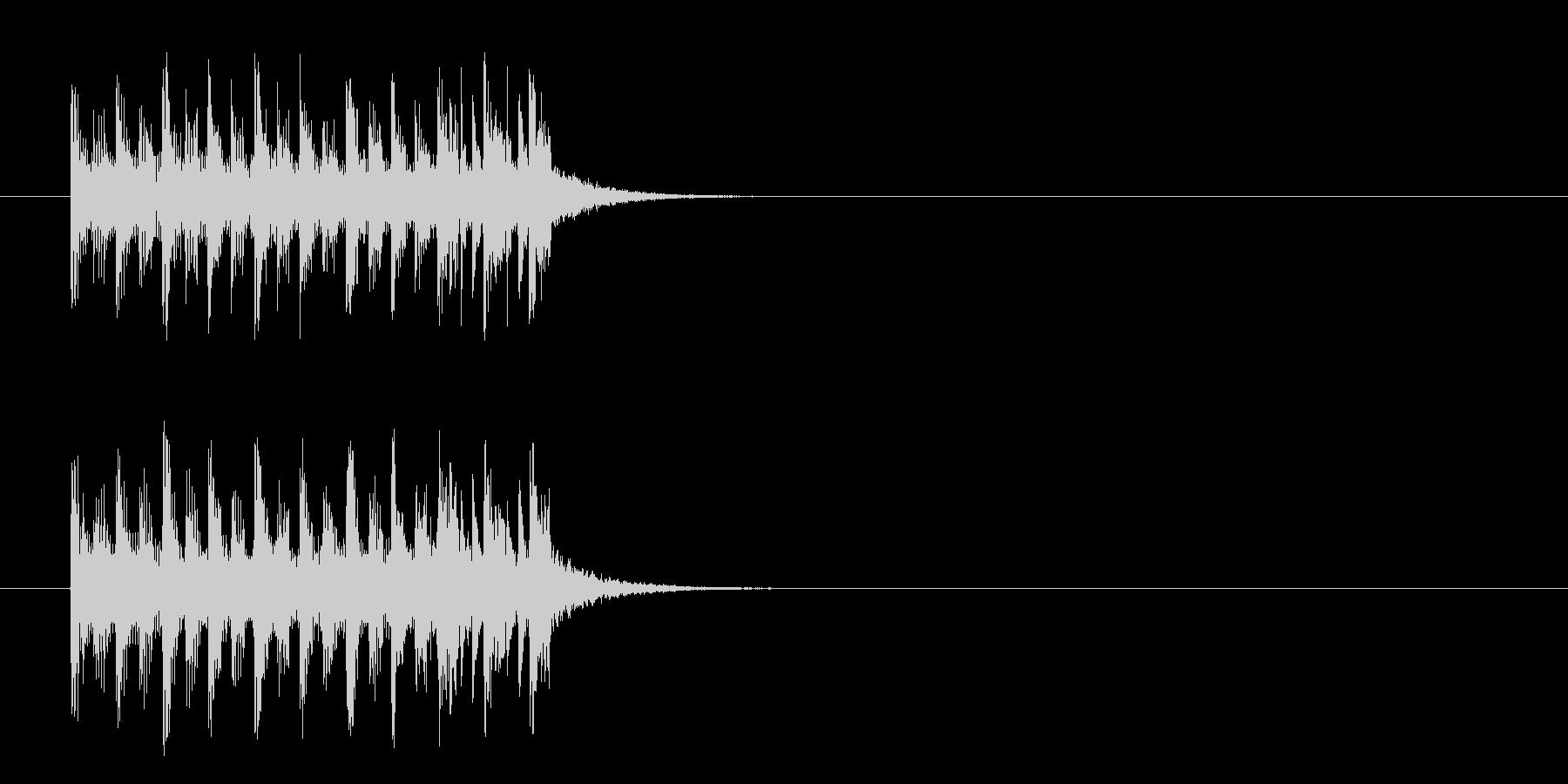 ジングル/コミカル(クイズ/考え中)の未再生の波形