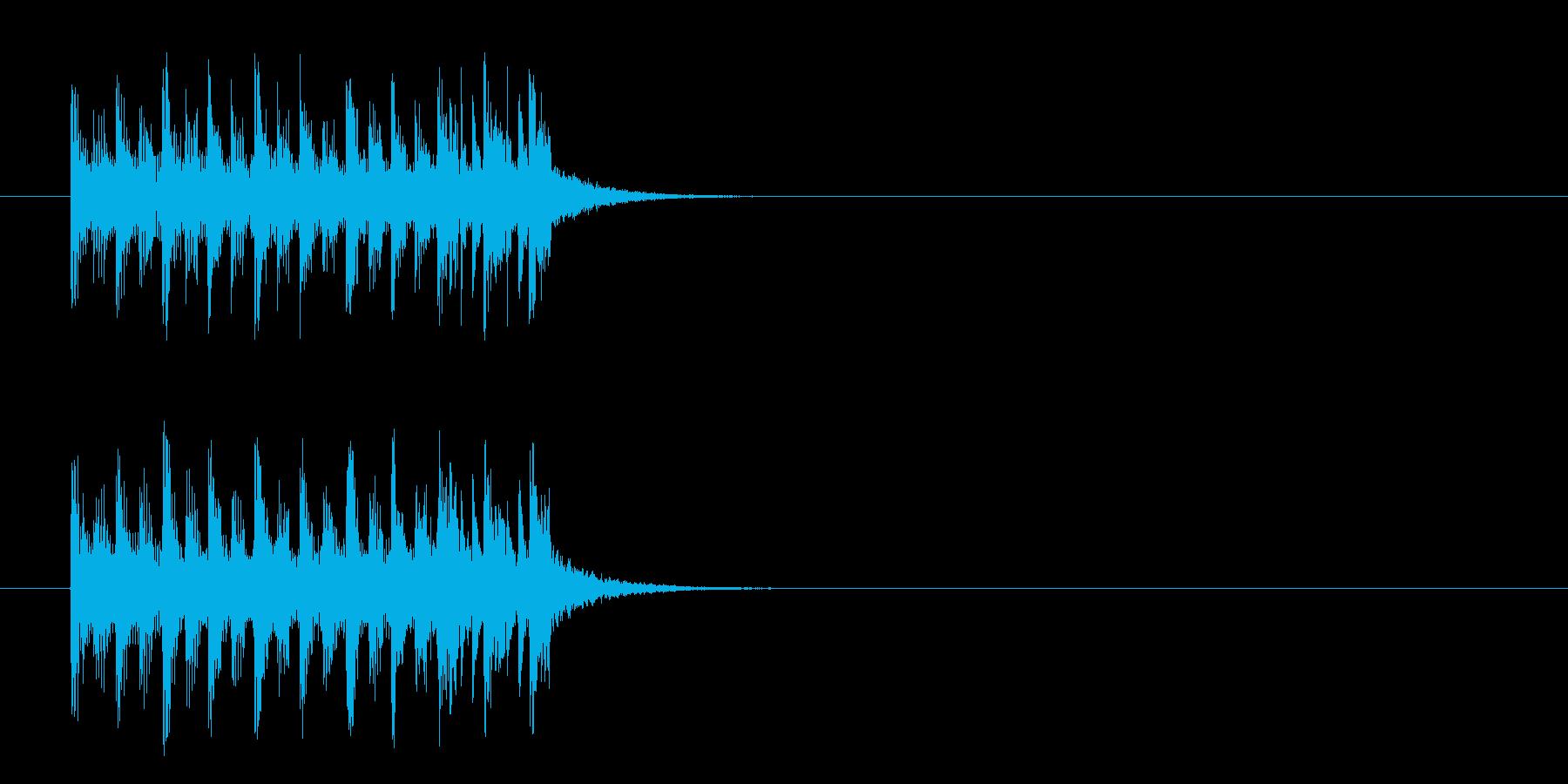 ジングル/コミカル(クイズ/考え中)の再生済みの波形