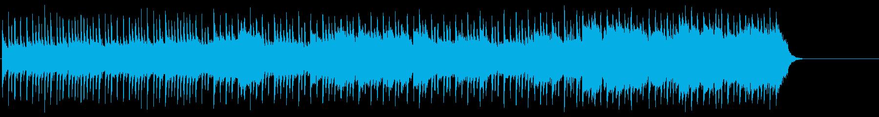 背中に哀愁漂うポップ(イントロ~A~…)の再生済みの波形